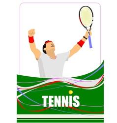 Al 0747 tennis 01 vector