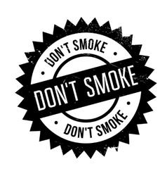 Do not smoke stamp vector