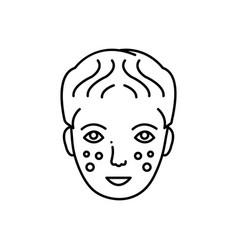 Laser dermatology vector
