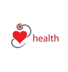 Logo health vector