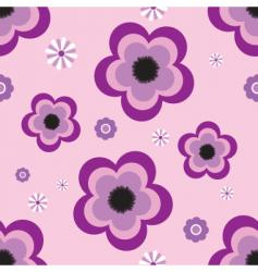Pansy tile vector