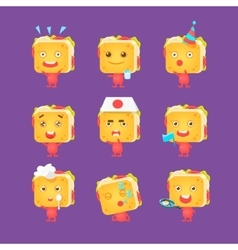 Sandwich Character Collection vector