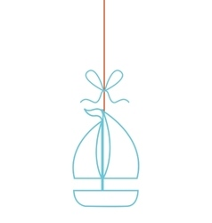 Summer hanging concept isolated icon vector