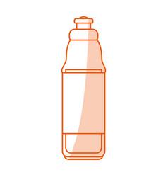 water bottle design vector image