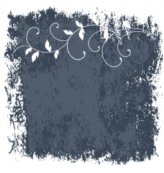 grunge frame and border series vector image vector image