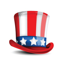 4th July Hat vector image