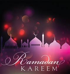 Abstract Ramadan background 1905 vector image