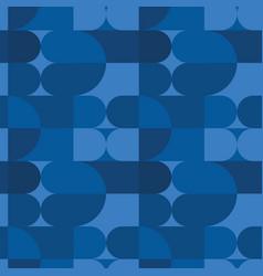 circle squares irregular seamless pattern vector image
