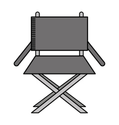 director chair isolated icon design vector image