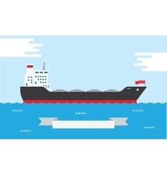 Oil Tanker vector