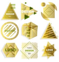 patterns set distress texture grunge design vector image