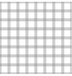 seamless tartan pattern grey kilt fabric texture vector image
