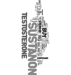 You can buy sustanon online text word cloud vector
