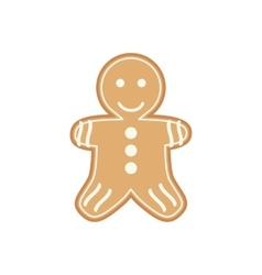 Yummy appetizing cookies for Santa Claus vector