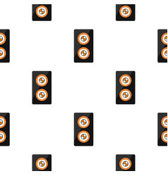 fish roll pattern seamless vector image