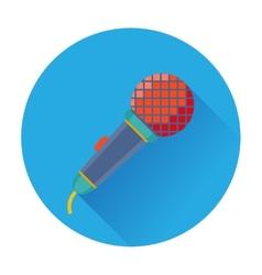 Celebration Karaoke Microphone icon vector image