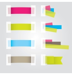 web page sticker vector image