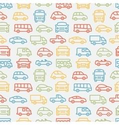 Car Seamless Pattern vector image vector image