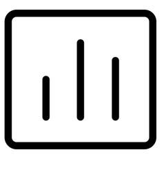 Analytics chart graph report statistics icon vector