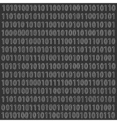 Binary Digital Signal Background vector