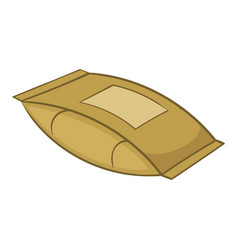 Cement bag icon cartoon style vector