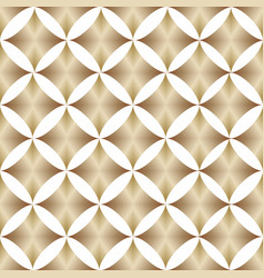 geometric pattern golden color vector image