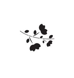 lavender black concept icon lavender flat vector image