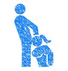 Oral sex persons grunge icon vector