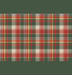 Pixel fabric texture classic plaid seamless vector