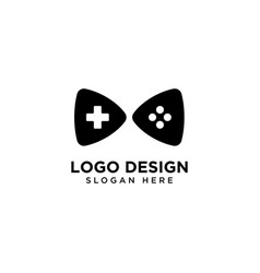 Play and game logo design vector