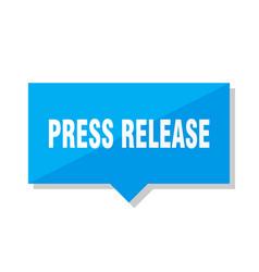 Press release price tag vector