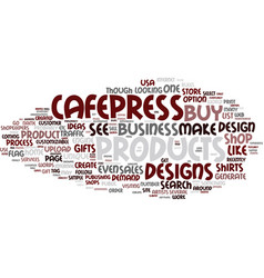 The cafepress idea of gifts and home business vector