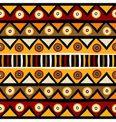 Tribal African background vector image