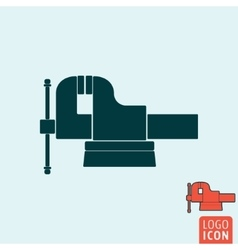 Vice icon isolated vector image