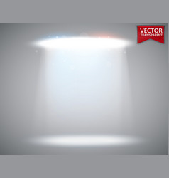spotlight scene transparent light effect stage vector image