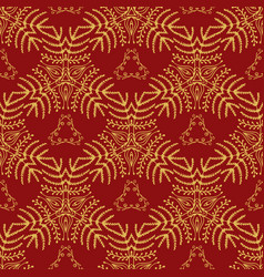 elegant seamless pattern endless floral ornament vector image vector image