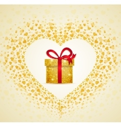 Gift from the heart vector