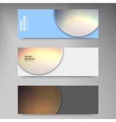 circle object design trend and transparent vector image vector image