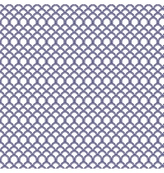 Traditional Japanese Wave Pattern Background vector image