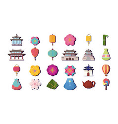 Asia culture design vector