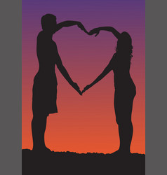 happy valentines day romantic vector image