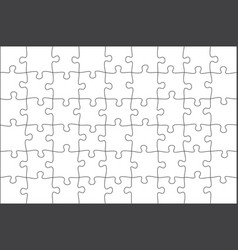 jigsaw puzzle grid background tile vector image