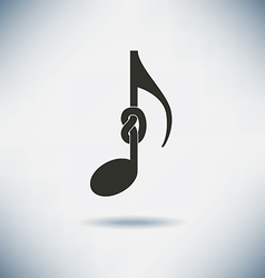 Knot Note vector image