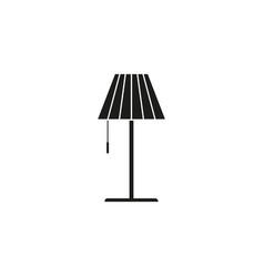 Lamp of icon vector