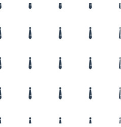 Tie icon pattern seamless white background vector