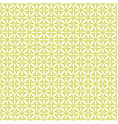 white and green tile pattern vector image