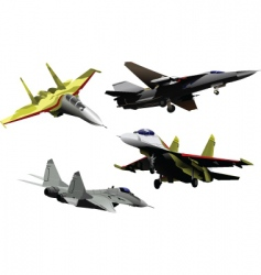 military air forces vector image