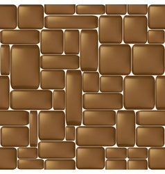 Stone seamless background vector image vector image
