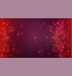bokeh background defocused lights glowing techno vector image vector image