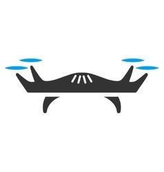 Air Drone Icon vector image